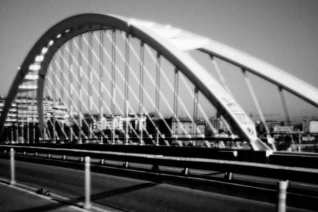 Puente de Calatrava-04. Barcelona. Pinhole. Estenopeica-26-06-2019