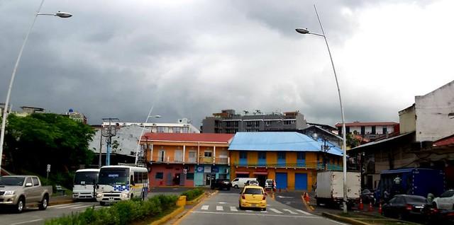 Llegando al Casco Antiguo... Panamá.