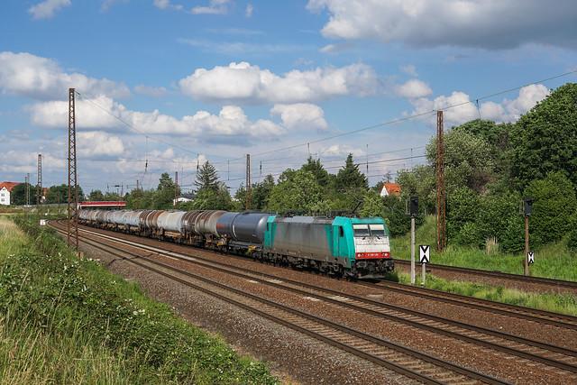 186 128  ITL - Eisenbahngesellschaft mbH | Leipzig-Wiederitzsch | Juni 2019
