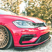 Volkswagen MK7 Golf R - M540 - Matte Race Gold by AvantGardeWheels