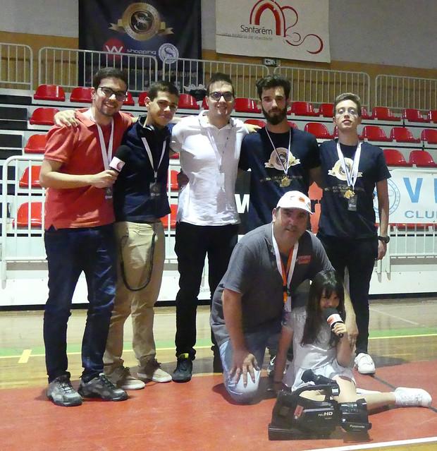 A Migas&CompanhiaFM no Vitória Futsal Cup Masters 2019