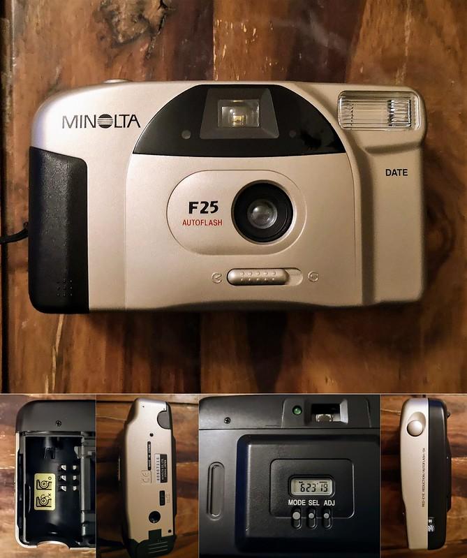 Minolta F25 montage
