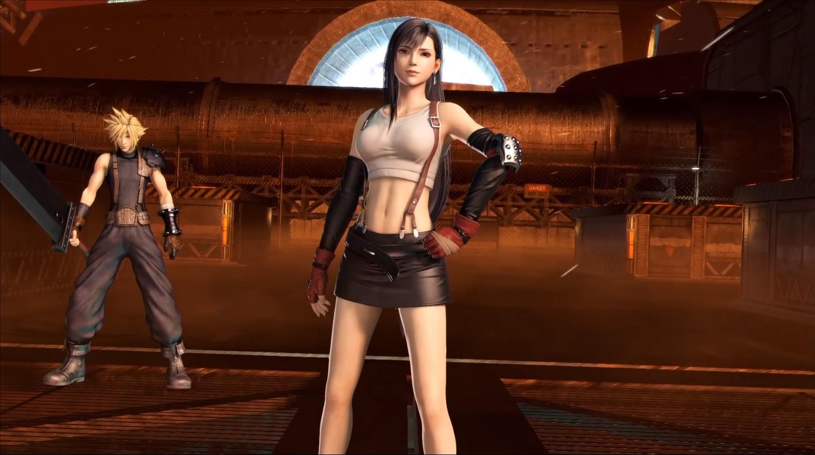 Dissidia Final Fantasy - Tifa