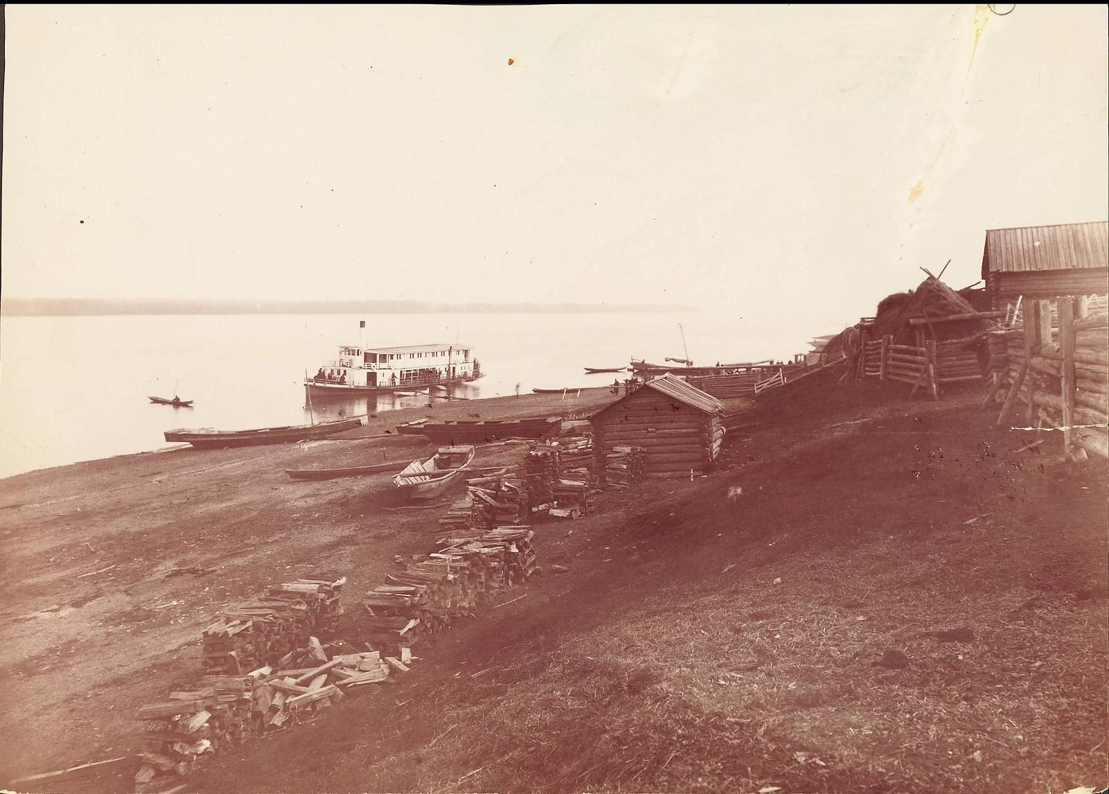 Станица Буссе на реке Уссури. Граница Маньчжурии и Сибири