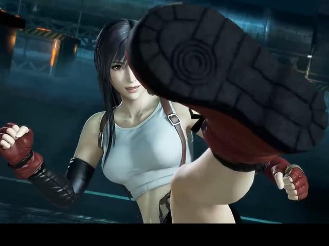 Dissidia Final Fantasy - Tifa Boot