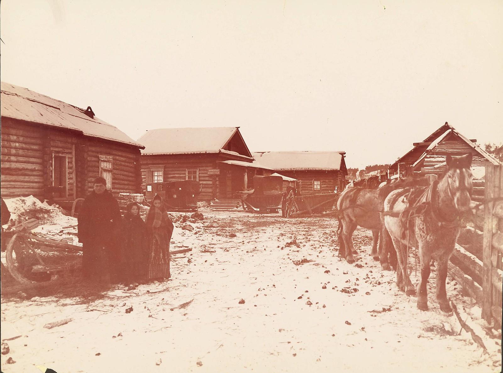 Виды почтовых станций на Амурской границе. Почтовая станция Свербеево.