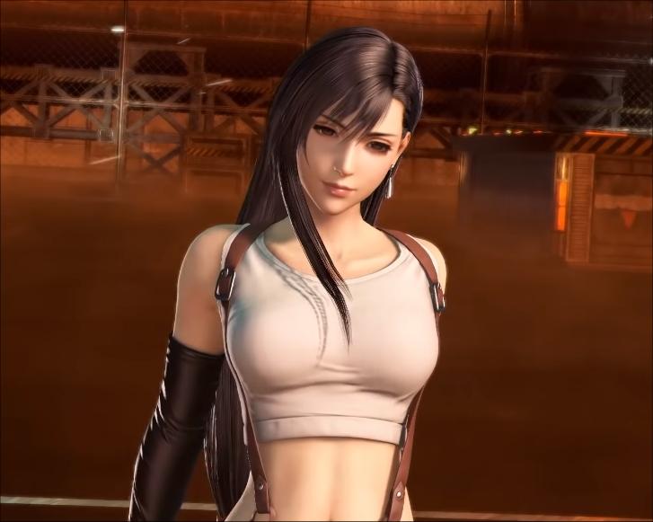 Dissidia Final Fantasy - Tifa Boobs