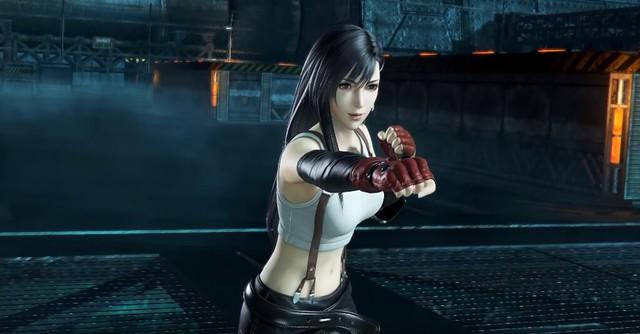 Dissidia Final Fantasy - Tifa Punch