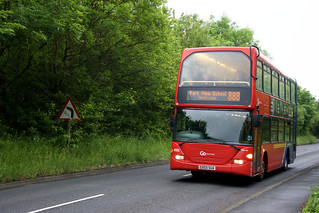 Go North East 6136 GX03SUA