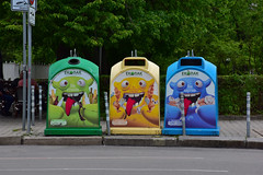Municipal waste and recycle management, Sofia, Bulgaria