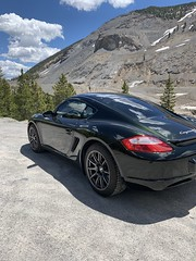 "Gary's 2006 Porsche Cayman S with 18"" SM-10 Wheels"