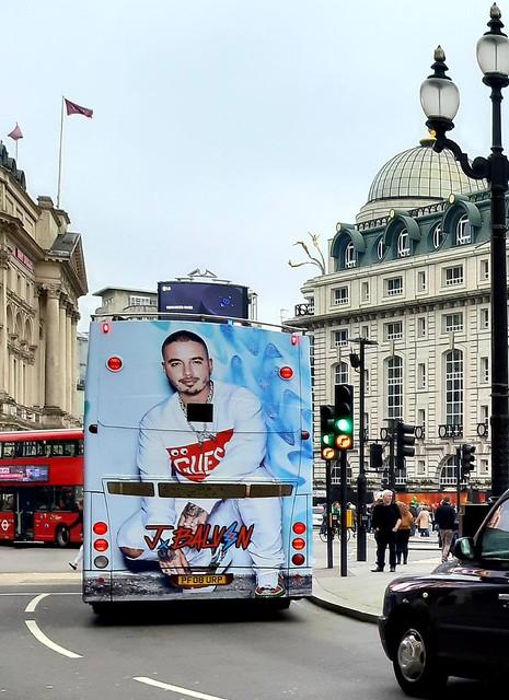 J. Balvin en Londres...