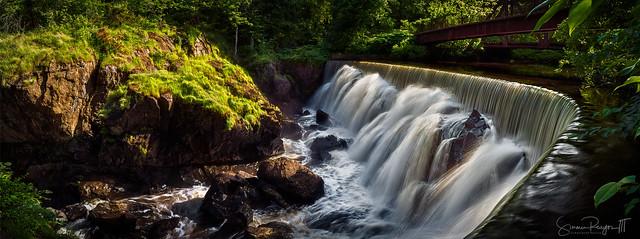 Yantic Falls Panoramic