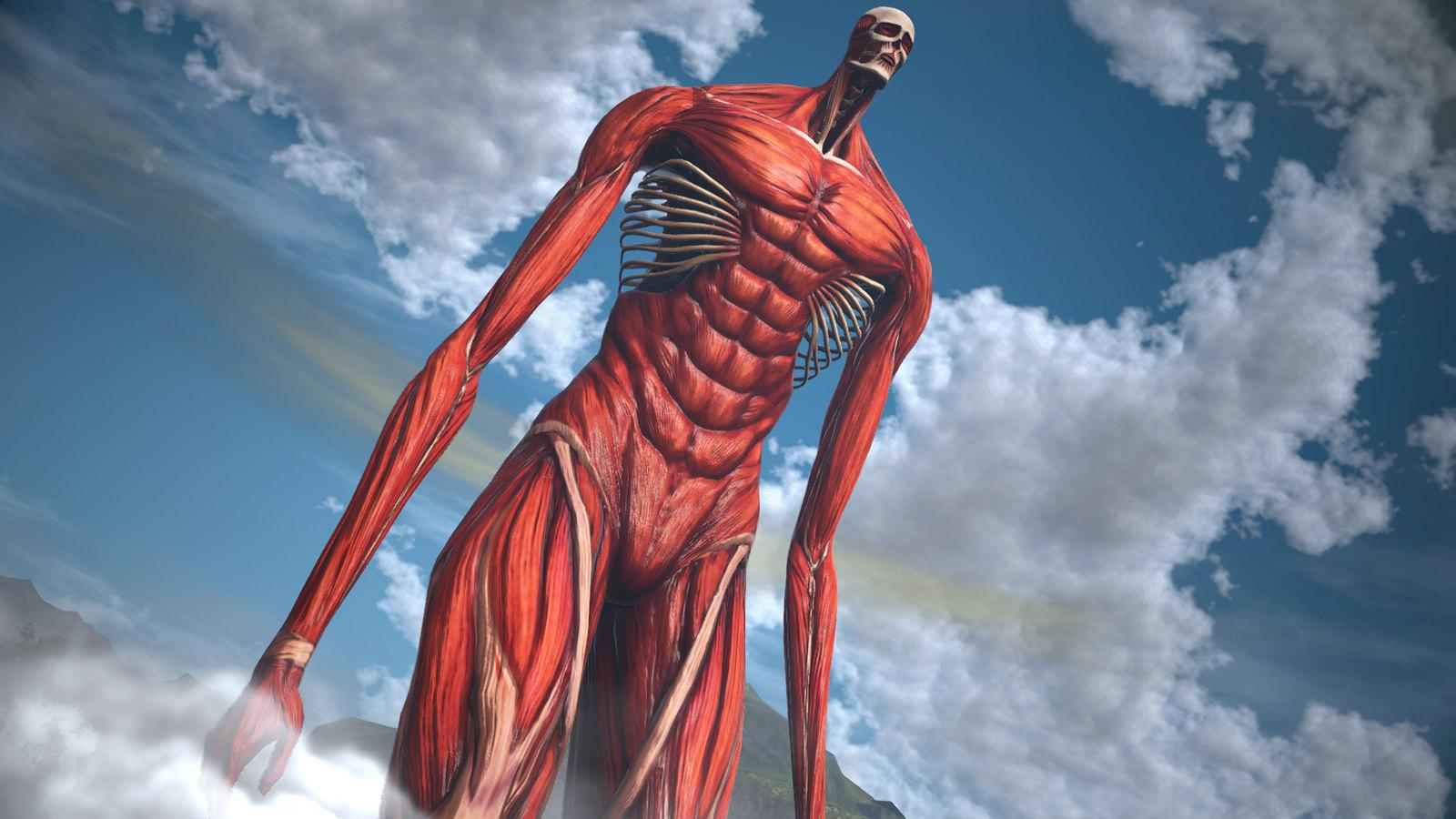 48129413101 36a0e5fb3a h - Werft einen ersten Blick auf den kolossalen neuen Helden, Titan Armin, in Attack on Titan 2: Final Battle