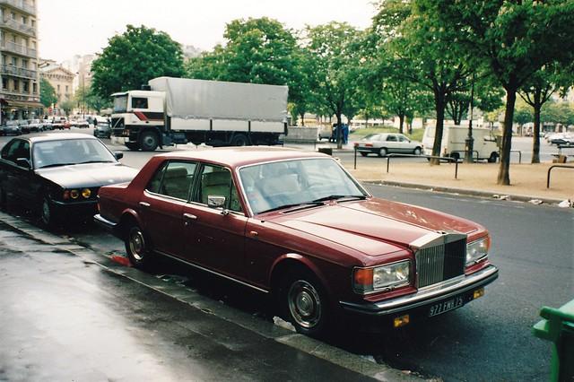 Rolls Royce Silver Spirit Place de la Nation Paris 07-11-1991 ax