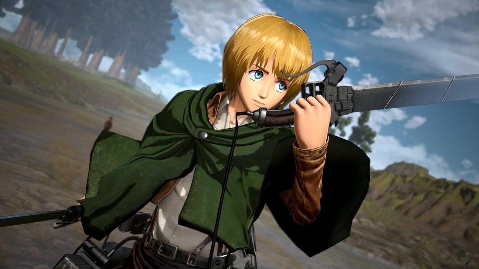 48129499397 cec8a5362b h - Werft einen ersten Blick auf den kolossalen neuen Helden, Titan Armin, in Attack on Titan 2: Final Battle