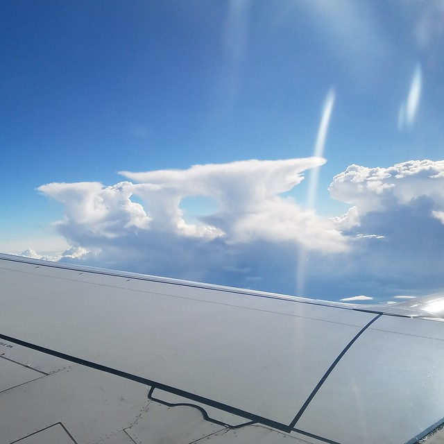 Anvil clouds