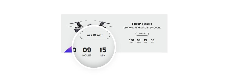 12.Countdown widget - Bos Nesi multipurpose prestashop theme