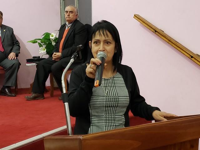 Primera Visita Superintendencia año 2019 en Iglesia Santa Rosa, Curicó