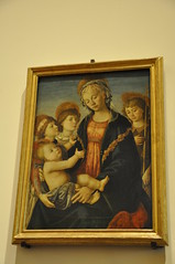 The Virgin and Child with Two Angels and the Young St. John the Baptist