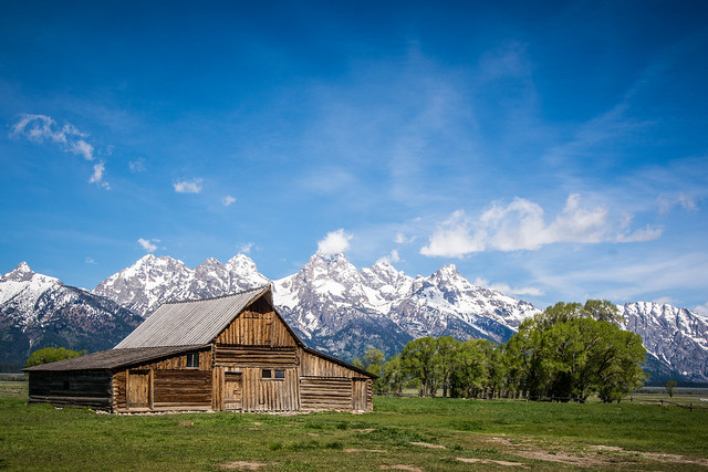 Moulton Barn, Grand Teton NP
