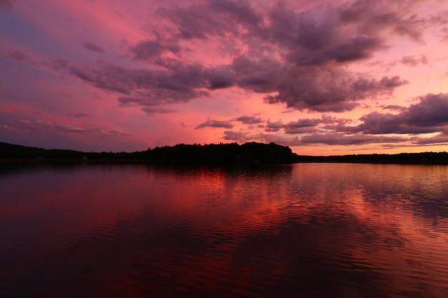 Sunset at Lake Arrowhead
