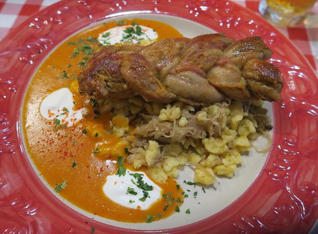 Pork Loin - Hungarikum Bisztro, Budapest