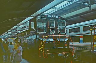 New Jersey Transit SW1500 Number 501, 1991 Hoboken Festival, Hoboken, NJ