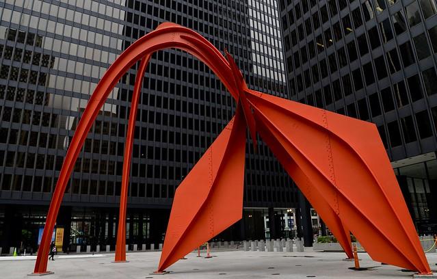Flamingo - Alexander Calder - Chicago IL