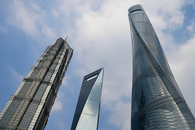 Shanghai - The Three Supertalls