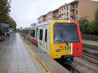 Trains du Palma Inca Sa Pobla Manacor (Ile de Majorque Espagne)