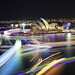 Boat Light Trails, Vivid Sydney 2019