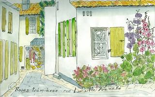 rue Lamarthe Ars en Ré