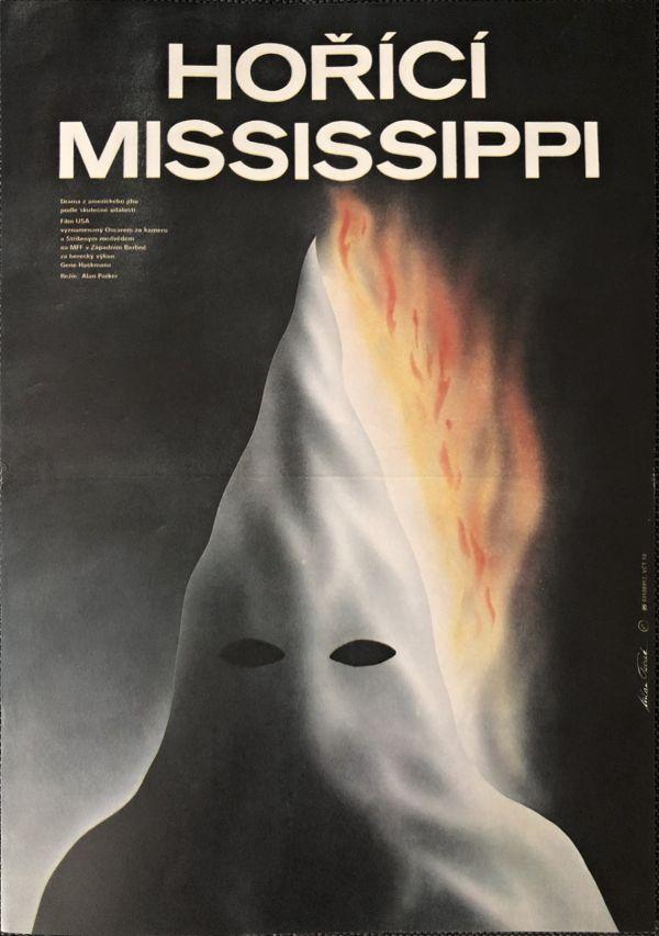 Filmový plagát Hořící Mississippi (Mississippi Burning)
