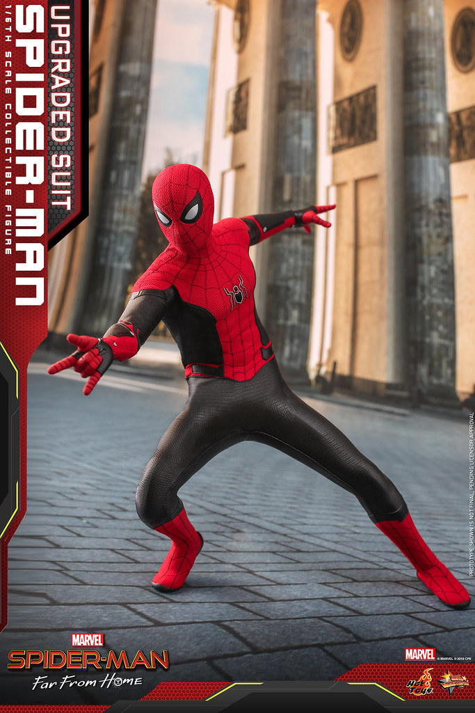 Hot Toys – MMS542 -《蜘蛛人:離家日》蜘蛛人 (升級版戰衣)  Spider-Man (Upgraded Suit) 1/6 比例人偶作品