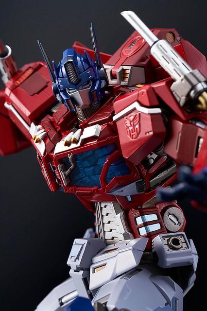 FLAME TOYS 鐵機巧 《變形金剛》第四彈「柯博文(Optimus Prime)」! [Kuro Kara Kuri]#04 Optimus Prime