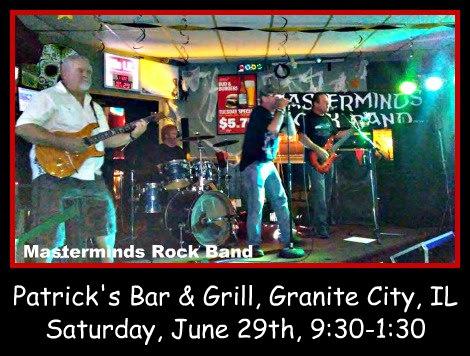 Masterminds Rock Band 6-29-19