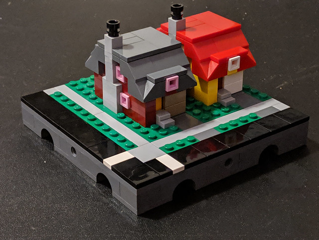 Micropolis Twin Houses