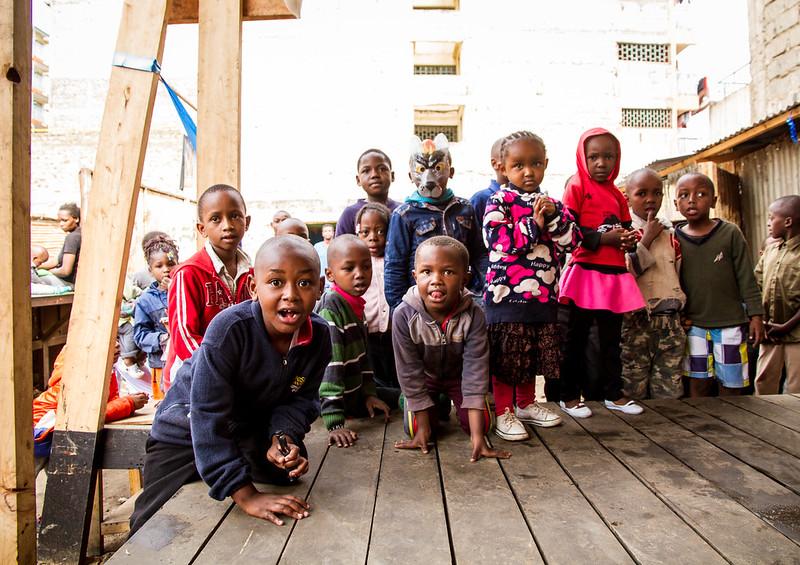 Opening of Children's Corner Mlango Kubwa, Mathare Informal Settlement, Nairobi, Kenya