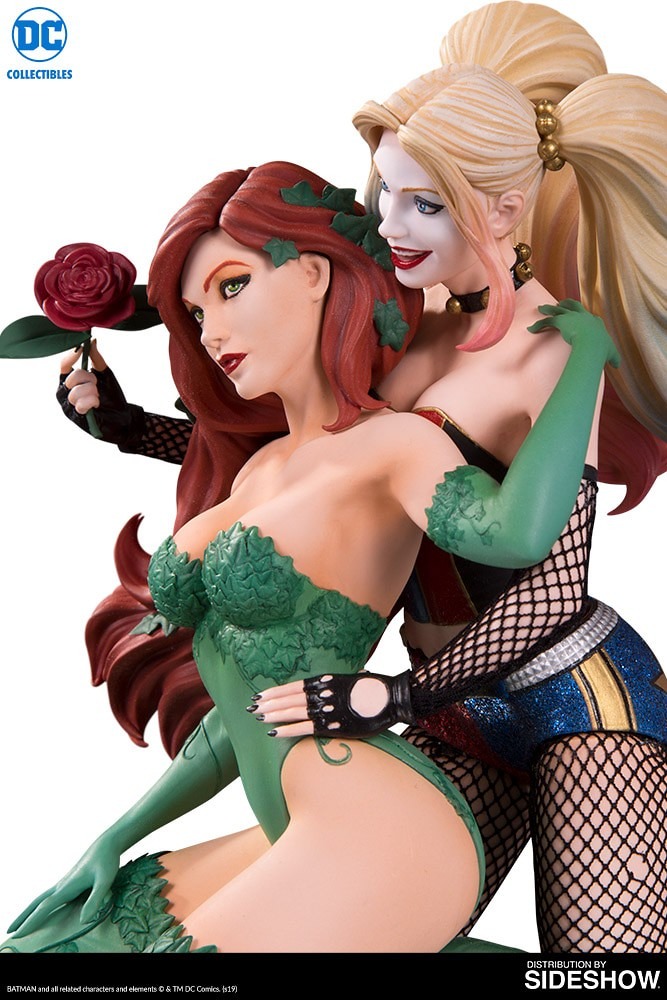 這對CP很可以~ DC Collectibles DC 設計師系列【哈莉·奎茵 & 毒藤女 (Harley Quinn & Poison Ivy) by Emanuela Lupacchino】全身雕像作品