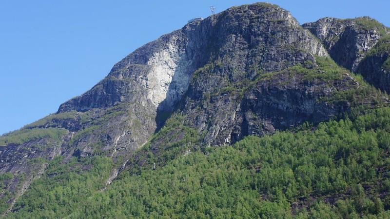 Utsikt til toppen