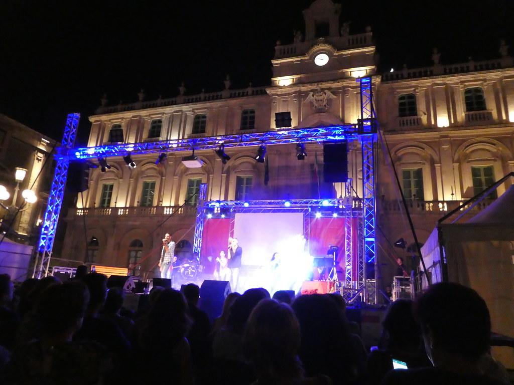 Family Festival in Catania, Sicily