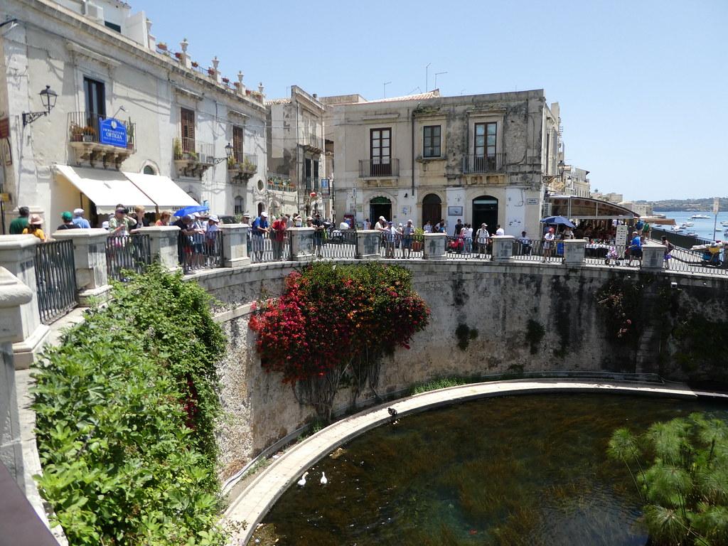 Fonte Aretusa, Ortigia, Sicily