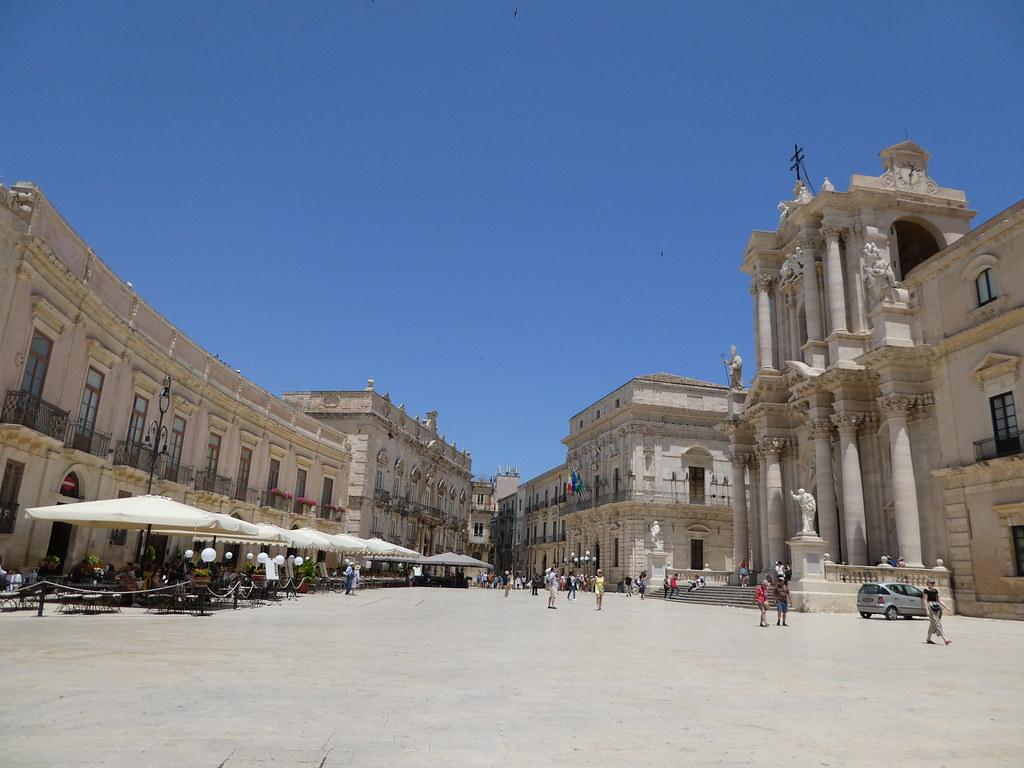 Piazza Duomo, Ortigia, Sicily