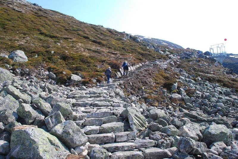 Flotte turstier og trapper