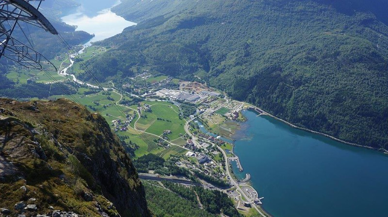 Utsikt fra toppen (Hoven)