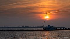 Sunset after a hot (32ºC) summer day