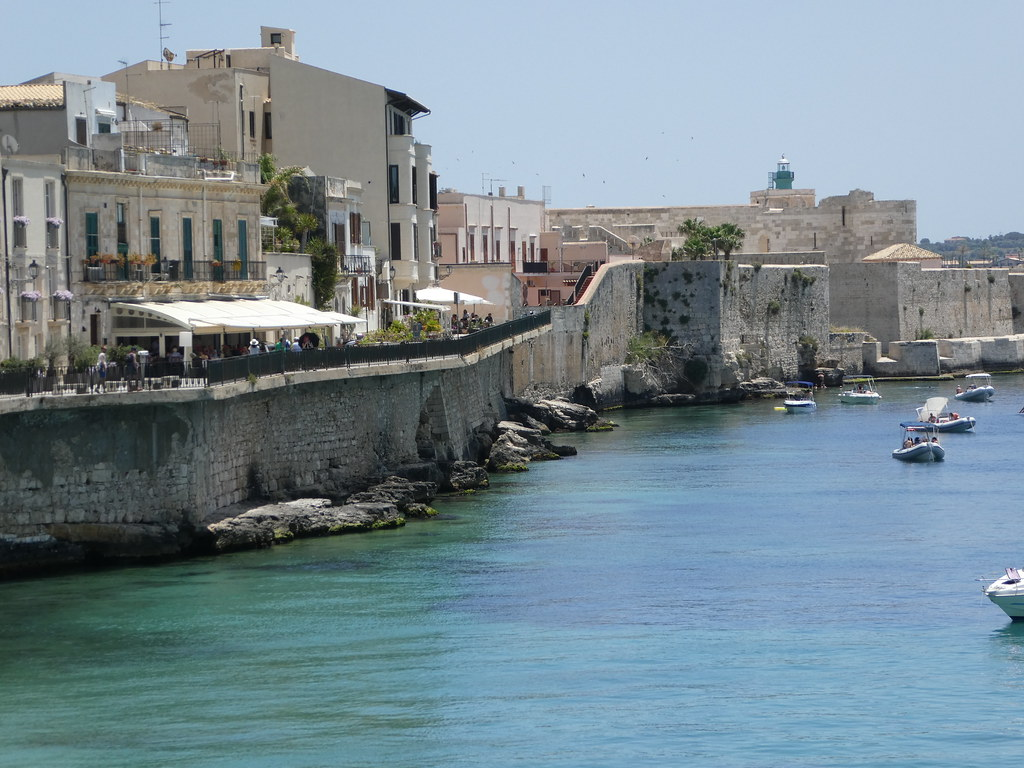 City walls in Ortigia, Sicily