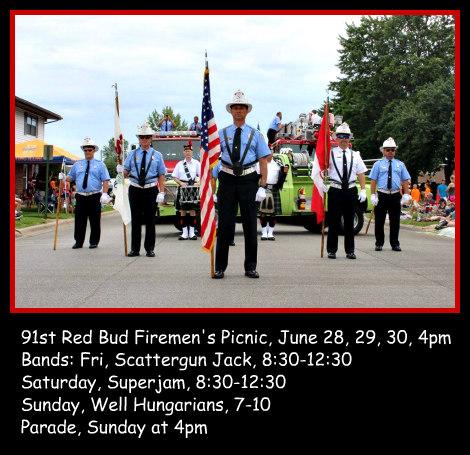 Red Bud Firemen's 6-28, 29, 30-19