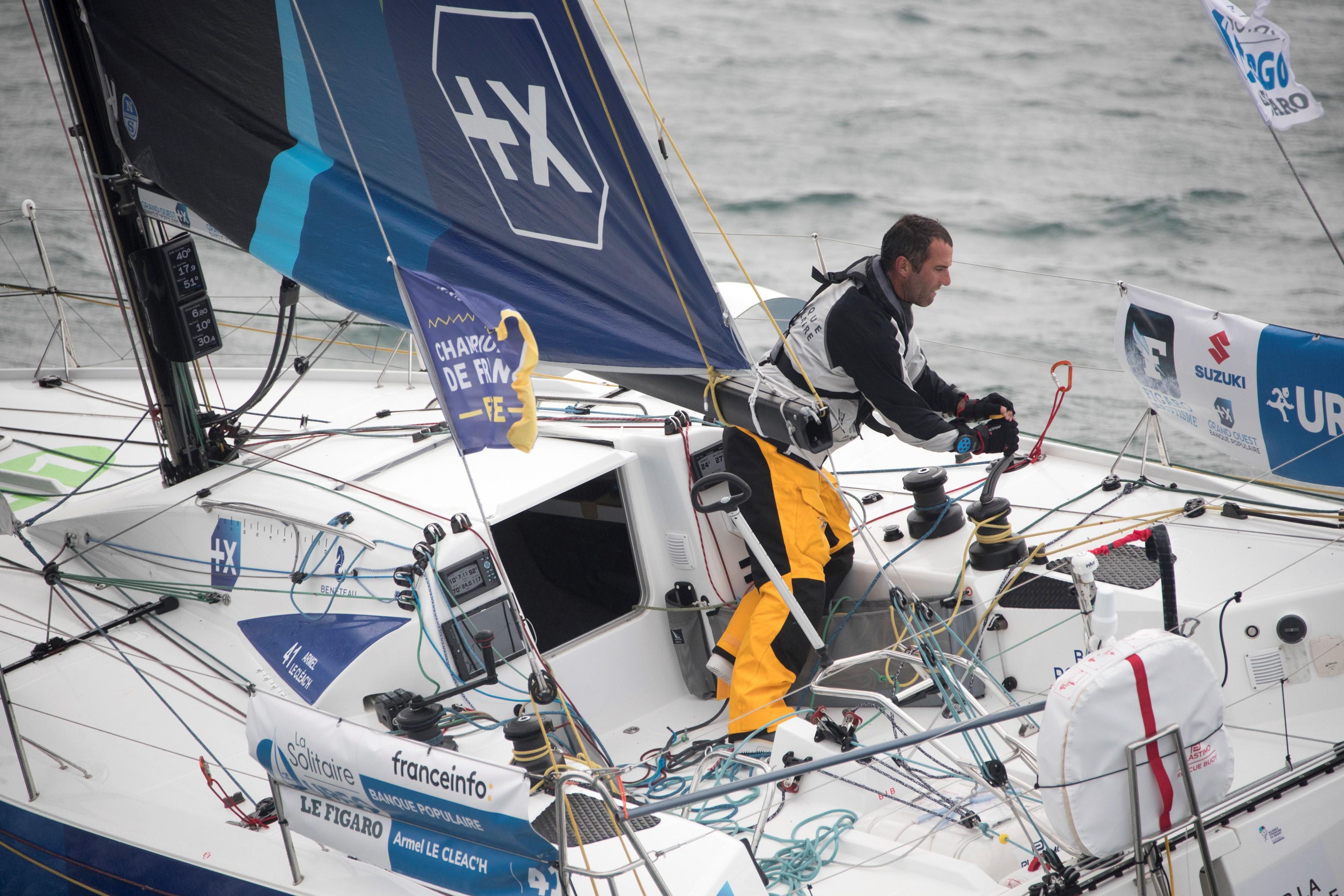 Solitaire URGO Le Figaro - 4ème étape
